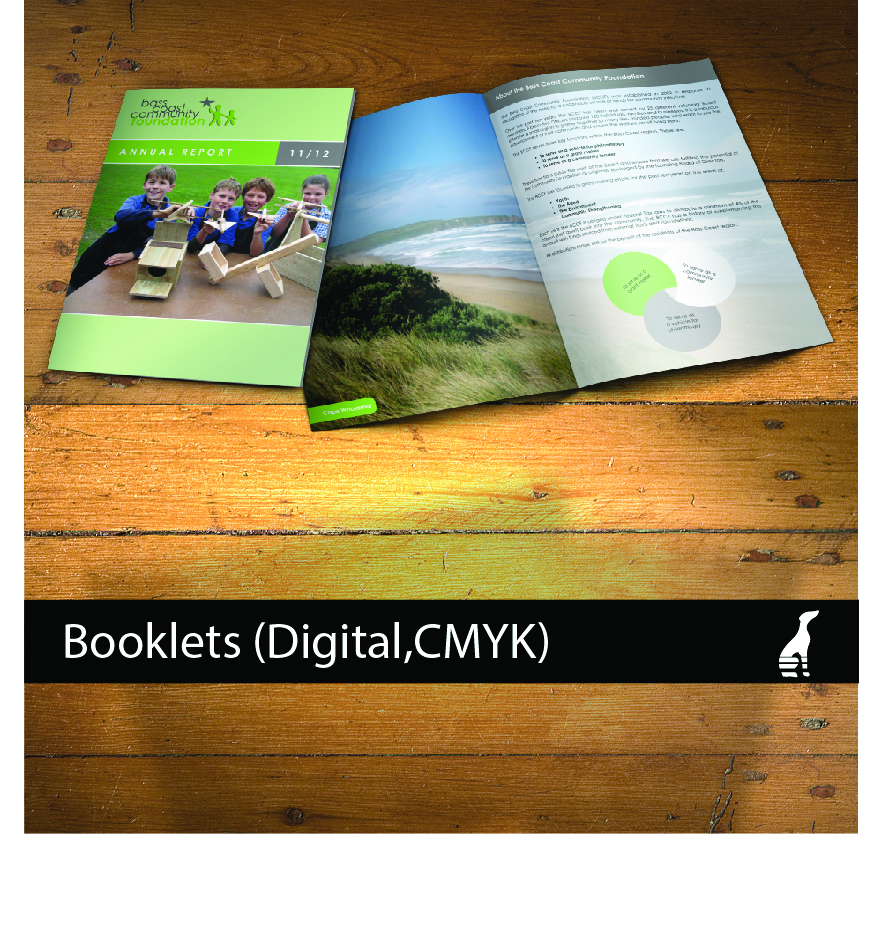 Booklets (digital, Full Colour)