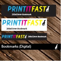 Bookmarks (Gloss, Satin, Digital)